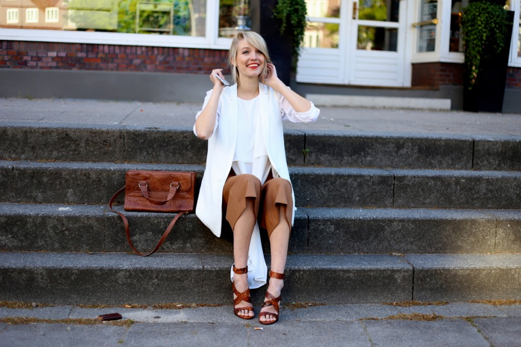 Camel Culottes & Whites