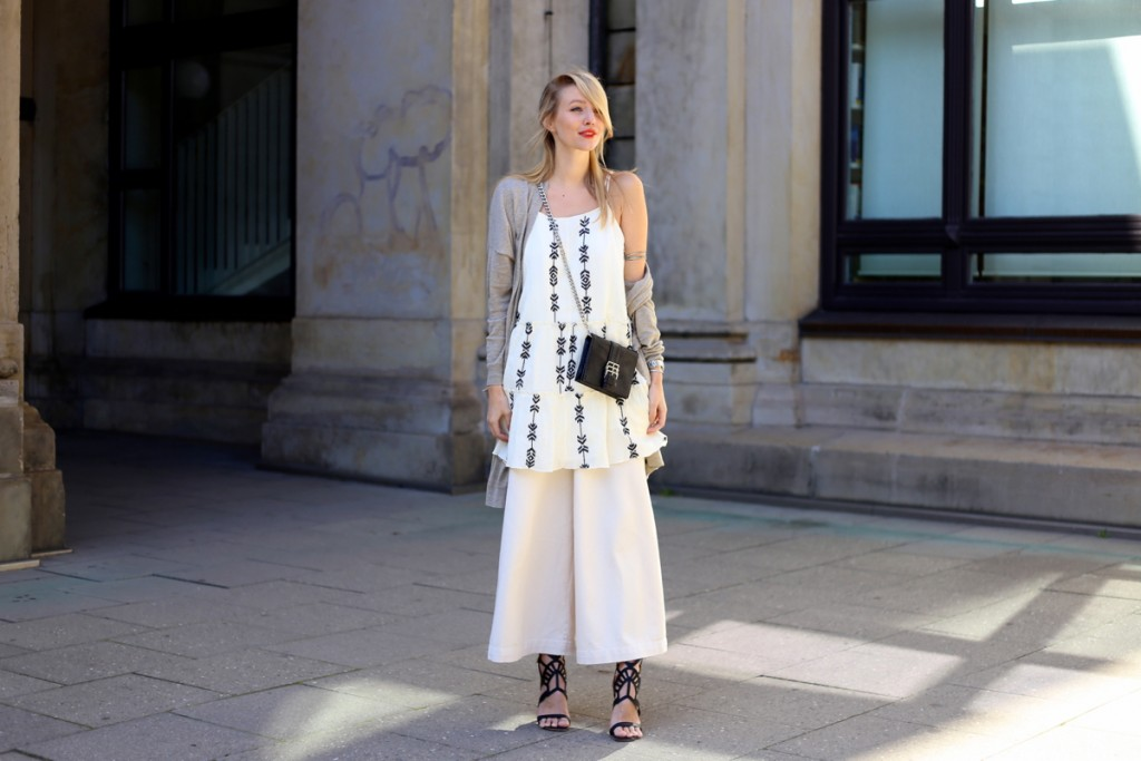Dress over Culottes