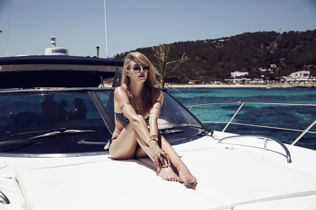 I'm on a boat with Tezenis & Mister Spex | Ibiza