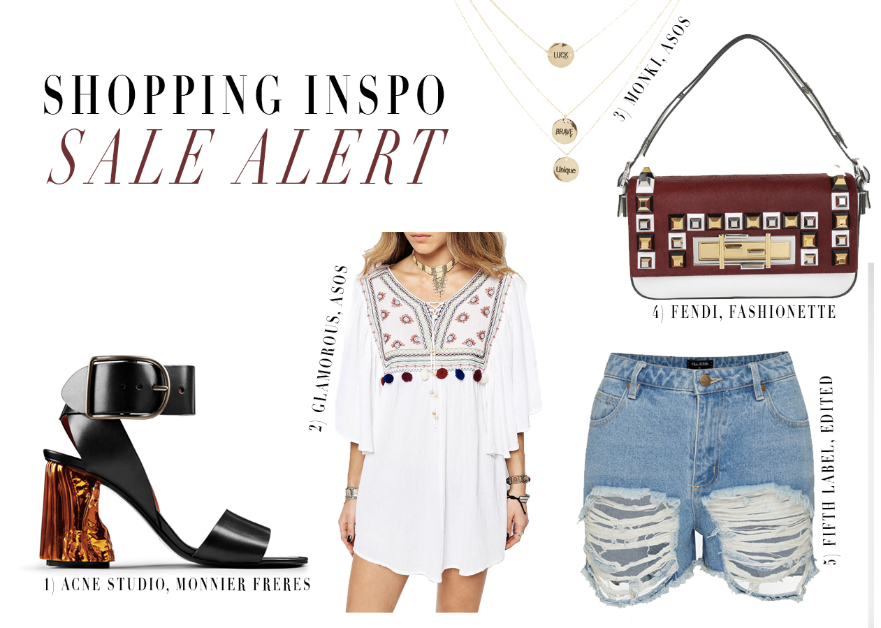 Shopping inspiration: Sale alert