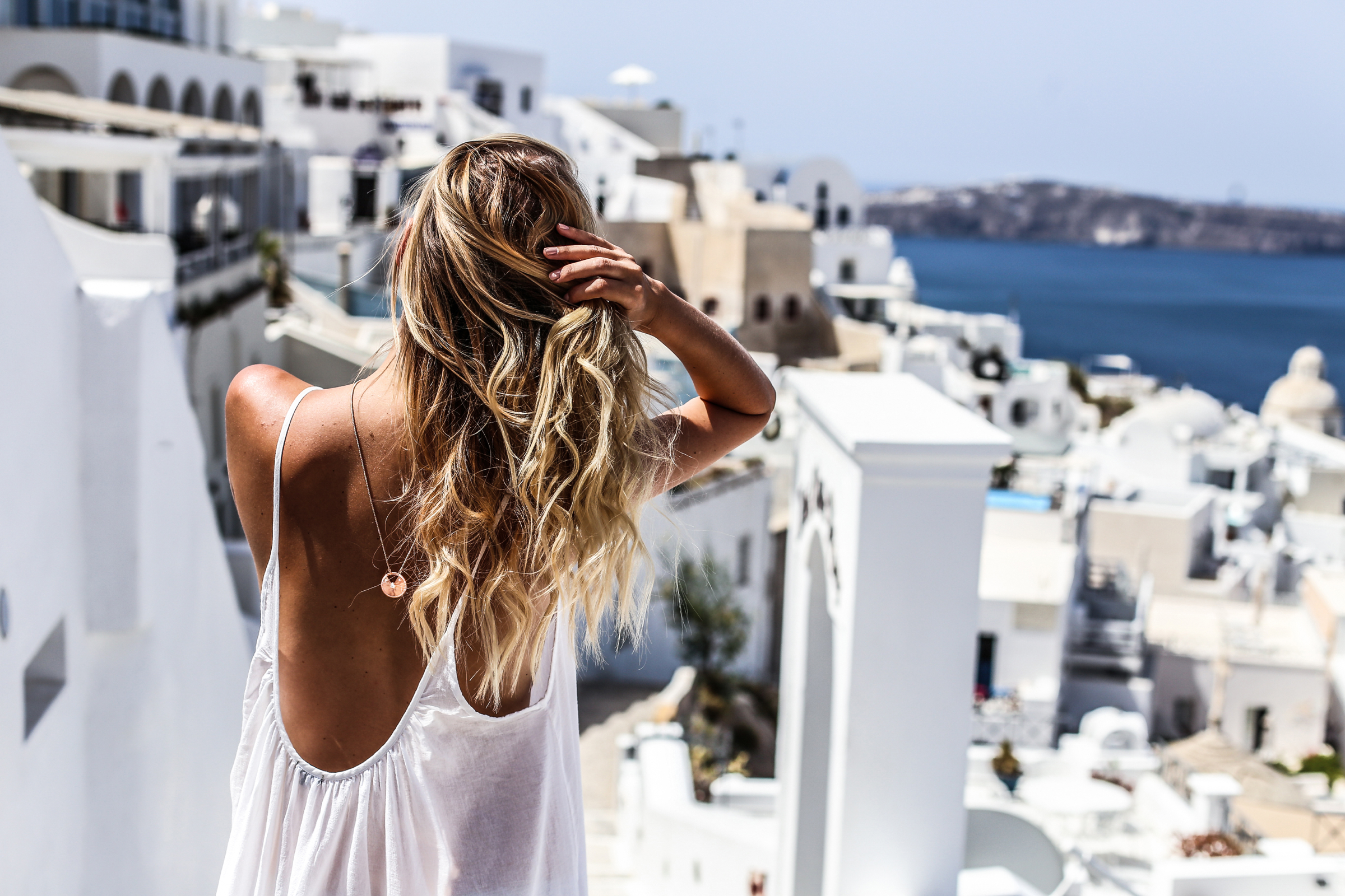 Dare to dream | Santorini