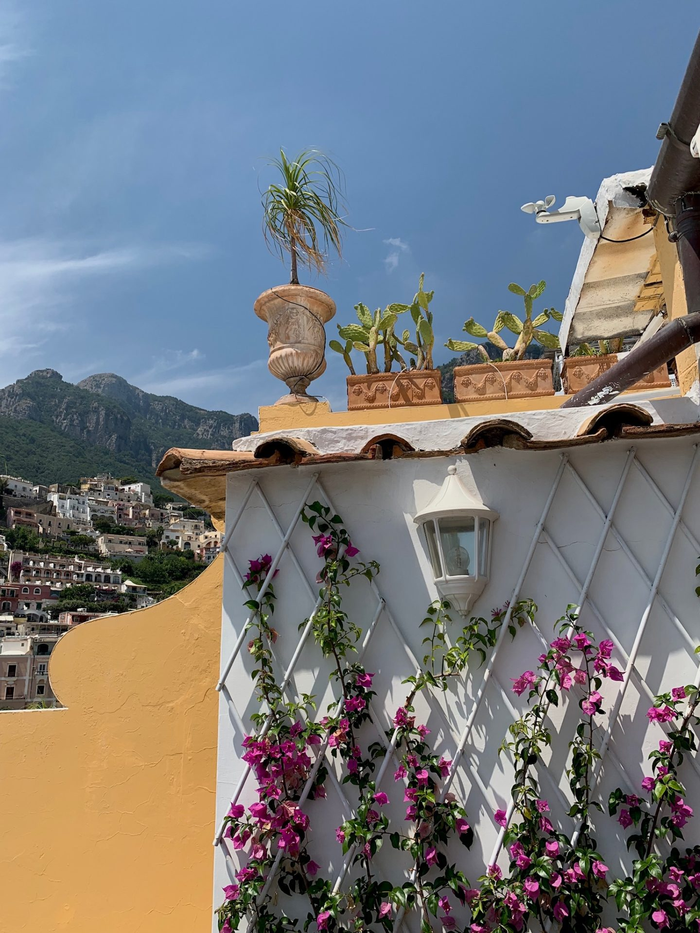 Positano Buildings