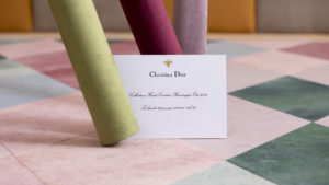 Dior couture spring summer 2019 show invitation