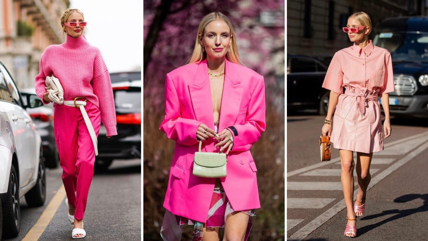 Pink Outfit Ideas Leonie Hanne Haute Couture
