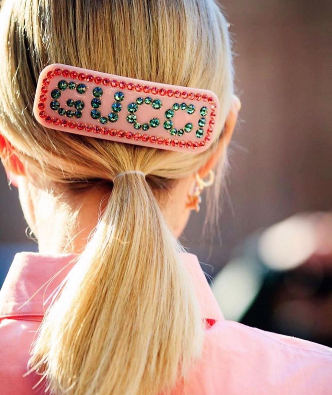 Gucci hairclip