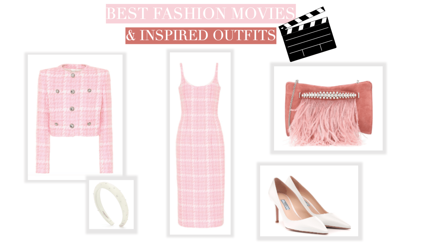 Best fashion movies collage