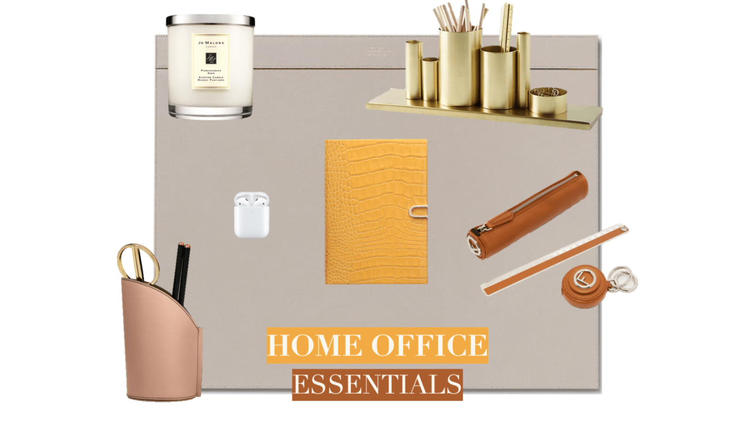 Home Office Essentials collage