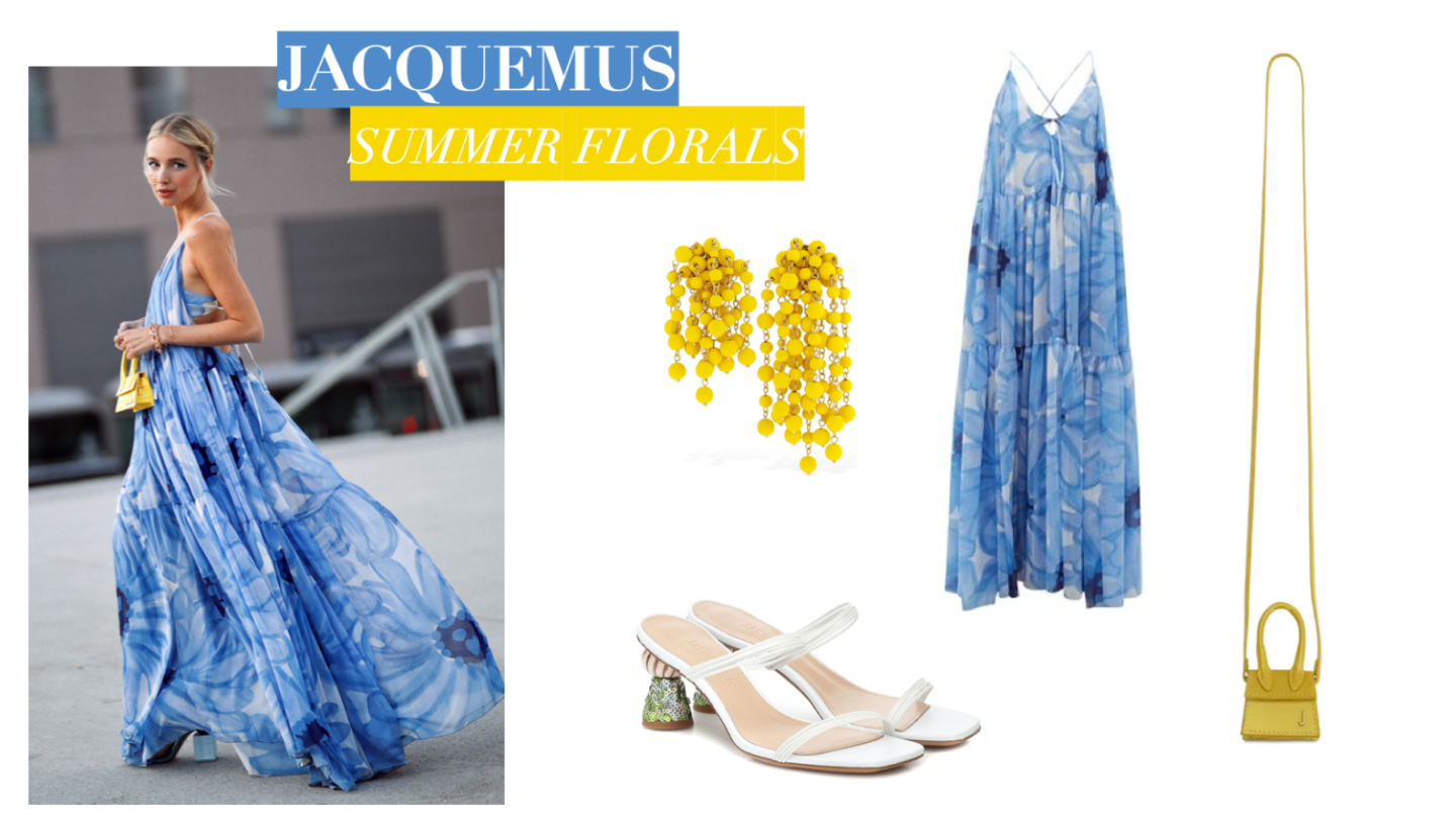 Jacquemus Summer Florals Collage 1